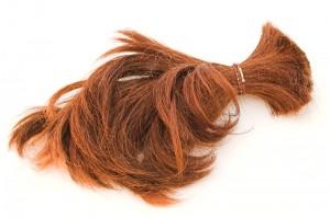 zafarbowane włosy